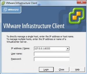 VMware Infrastructure Client
